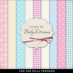 Far Far Hill: Freebies Backgrounds - Baby Dreams, para descargar desde un servidor