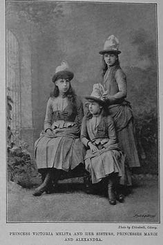 Victoria, Alexandra, and Marie.