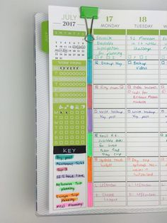 how to use the sidebar of your planner tips ideas inspiration stickers key bullet journal symbol color coding