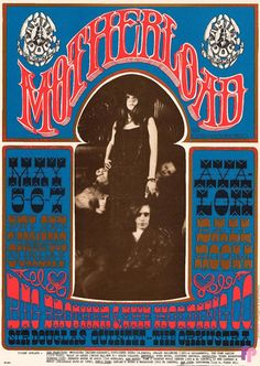 Big Brother and the Holding Company at Avalon Ballr.oom 5/5-7/67 by Rick Griffin & Bob Seidemann...Performers: Big Brother and the Holding Company Sir Douglas Quintet Orkustra16