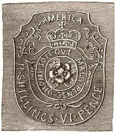 Stamp Act Seal vi pence