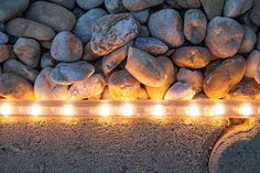 Create Inviting Walkways with Rope Light