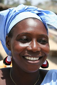 A woman in Gambia, West Africa