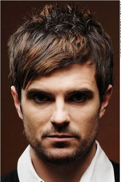 bridal hairstyles with headband : Brendon Urie 2013 Haircut Tussled mens hairstyle