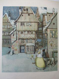 """Else Wenz-Vietor / Felix Timmermans   """"St.  Nikolaus in Not""""   Gerhard Stalling Verlag, 1926"""