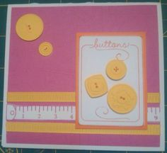 Sew Suite card by stampin_sally - Cards and Paper Crafts at Splitcoaststampers