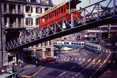1979 Zurych Sydney Harbour Bridge, Switzerland, Travel, Voyage, Viajes, Traveling, Trips, Tourism