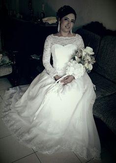 Vestido de Novia Lace Wedding, Wedding Dresses, One Shoulder Wedding Dress, Fashion, Brides, Bridal Gowns, Bride Dresses, Moda, Fashion Styles