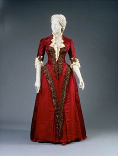 1883 Reception or dinner dress | Museum of Fine Arts, Boston