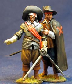 TYW 005 SPANISH TERCIO OFFCIER AND MUSKETEER