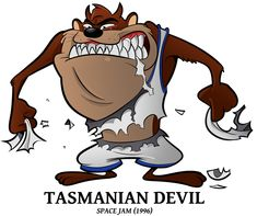Draft 2018 Special - Tasmanian Devil by BoscoloAndrea on DeviantArt Classic Cartoon Characters, Classic Cartoons, Cartoon Styles, Fictional Characters, Looney Tunes Space Jam, Looney Tunes Cartoons, Best Cartoons Ever, Famous Cartoons, Space Jam Theme