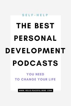 Do you want to be happier? These podcasts will guide you to find you inner-peace, clean up your life and boost you to reach your goals! Go to www.HelloPeacefulMind.com to start your journey today.