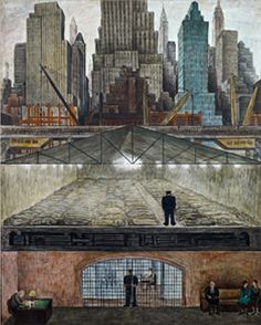 Diego Rivera. I was lucky enough to see this in person at MOMA