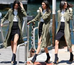 Kendall Jenner Models Her Forever New Collection in Australia