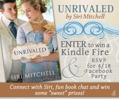 Unrivaled by Siri Mitchell, SWEET GIVEAWAY & FaceBook Party!!!   Jojo's Corner