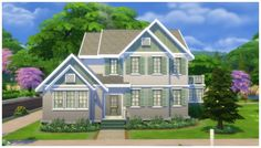 Hunt House by CarlDillynson at Mod The Sims via Sims 4 Updates