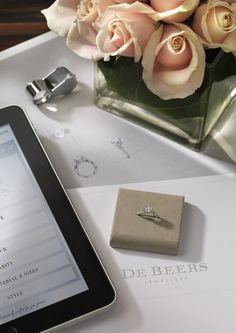 #ForYouForever #ipad #DeBeers #engagement