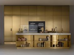 Italia PVD Champagne by Arc Linea Arredamenti Spa is a finalist in Interior Design's Best of Year Awards! #boy2015 https://boyawards.interiordesign.net/finalists/2015/products/kitchen-cabinetry/italia-pvd-champagne