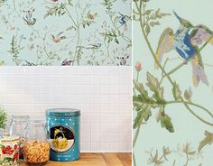 papier peint cuisine hummingbirds cole and son Cole And Son, Decoration, Shower, Canning, Hummingbirds, Prints, Image, Wall Art, Wallpaper