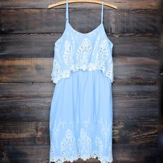 on the prairie victorian dress - blue – shop hearts