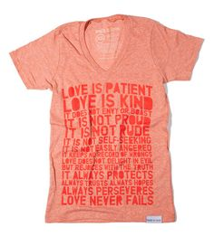 walk in love.  Anyone want to buy me alllll of these shirts? Thanks!