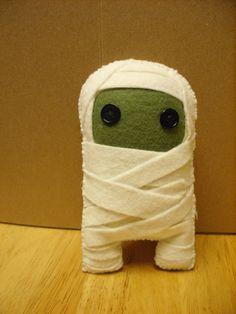 mini Mummy plush