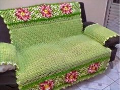 """Imagem relacionada """"Maybe tapestry crochet?"""", """"posting for the idea not the colors! Crochet Motifs, Crochet Doilies, Crochet Stitches, Free Crochet, Knit Crochet, Crochet Patterns, Crochet Home Decor, Crochet Crafts, Crochet Projects"""