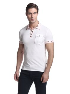 f99d7ff9 Just Cavalli Men Indian Men Fashion, Mens Fashion, Contrast Collar, Men's  Polo,