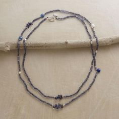 DOLLED UP DENIM NECKLACE: View 2
