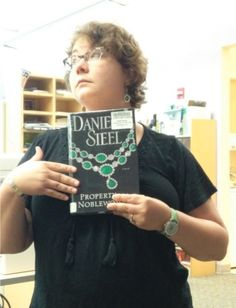 Property of a Noblewoman, by Danielle Steel  /  Book Faces @ Calvert Library