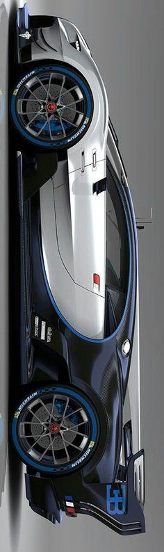 #Bugatti Vision Gran Turismo by Levon