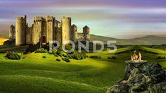 Castle Of Hyperborea - Стоковое видео | by Aleksmaster