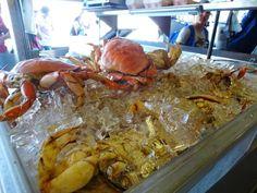 The Crab Market in San Fransisco San Fransisco, Marketing, Food, Essen, Meals, Yemek, Eten