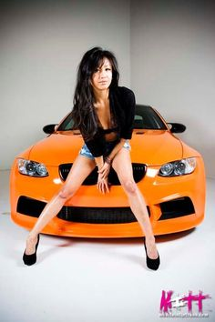 Cars & Girls Lynhthy Nguyen BMW Babe - AdavenAutoModified
