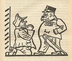 """Иллюстрация к роману Я. Гашека """"Похождения бравого солдата Швейка во время…"""