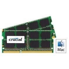 Memoria Mac Crucial 2GB SO-DIMM DDR3 1066MHz