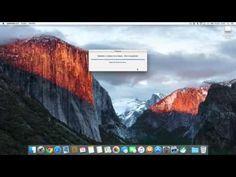 El Capitan (Mac OS X 10.11) : créer une clé USB d'installation