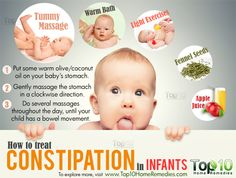 How to Treat Constipation in Infants – Healthy Way Of Life Newborn Constipation, Home Remedies Constipation, How To Treat Constipation, Bloating And Constipation, Top 10 Home Remedies, Natural Home Remedies, Constipated Baby, Thing 1, Natural Treatments