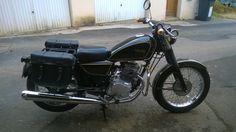 "Honda 125 CM 1987 transformation  ""Gendarmebike"""