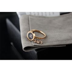 Chanel Fashion Charm Rings for women, Stainless Steel and Crystal
