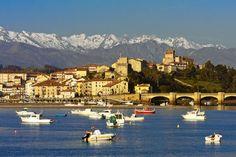 San Vicente de la Barquera, Cantabria | Spain (by Jose Manuel García)(Source: travelingcolors)