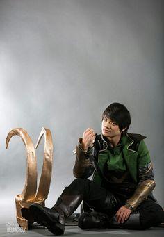 Orsic Cosplaying as Loki