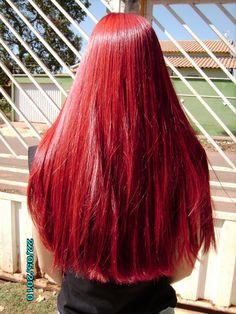 Raspberry Red Hair