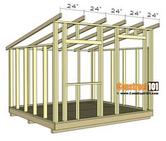 plans lean to shed plans - rafters installed. lean to shed plans - rafters installed. Lean To Shed Plans, Wood Shed Plans, Shed Building Plans, Building Ideas, Free Shed Plans, 10x10 Shed Plans, Building Homes, Barn Plans, Backyard Sheds