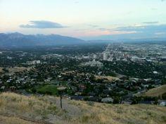 Salt Lake City, UT view from Ensign Peak