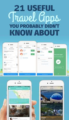 21 Useful Travel Apps You Probably Didn't Know About  Know someone looking to hire top tech talent and want to have your travel paid for? Contact me, carlos@recruitingforgood.com