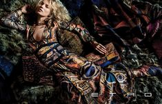 Kate Moss by Mario Testino for Etro Fall/Winter 2015/2016 Campaign