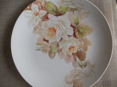 New rose paintings with verses | ARTchat - Porcelain Art Plus (formerly Chatty Teachers & Artists)  June Watson Artist