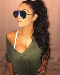 i love clothes Hair Colorful, Bright Red Hair, Big Chop, Blond, Natalie Eva Marie, Wwe Girls, Hipster, Kim Kardashian, Her Hair