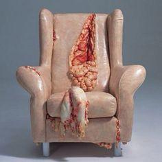 Guts armchair